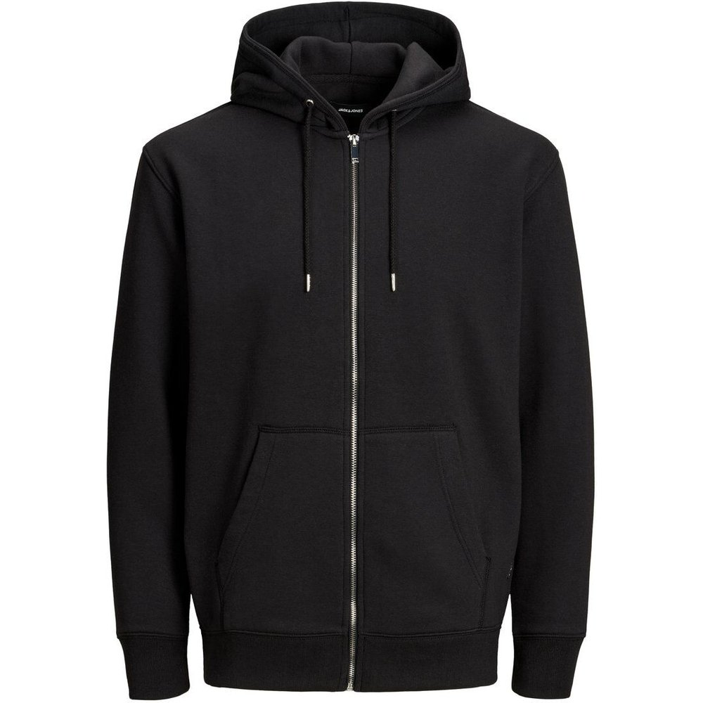 Sweat-shirt Zippé Sweat À Capuche Men black - jack & jones - Modalova
