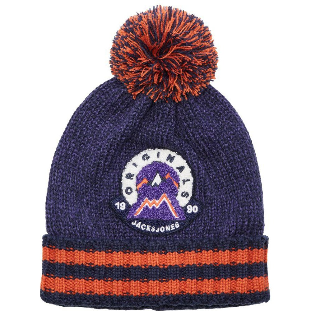 Pompon Maille Bonnet Men purple - jack & jones - Modalova