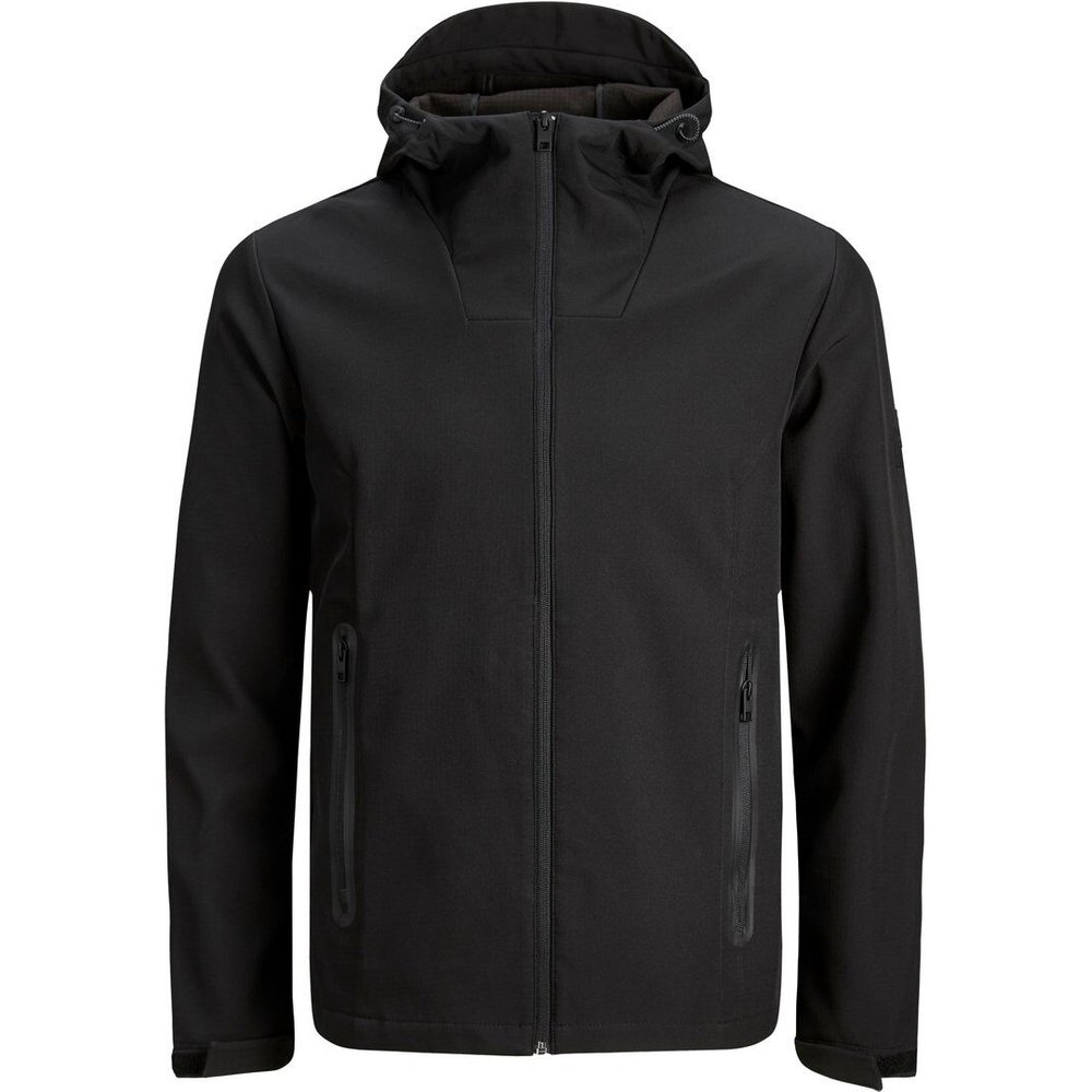 Capuche Softshell Veste Men black - jack & jones - Modalova