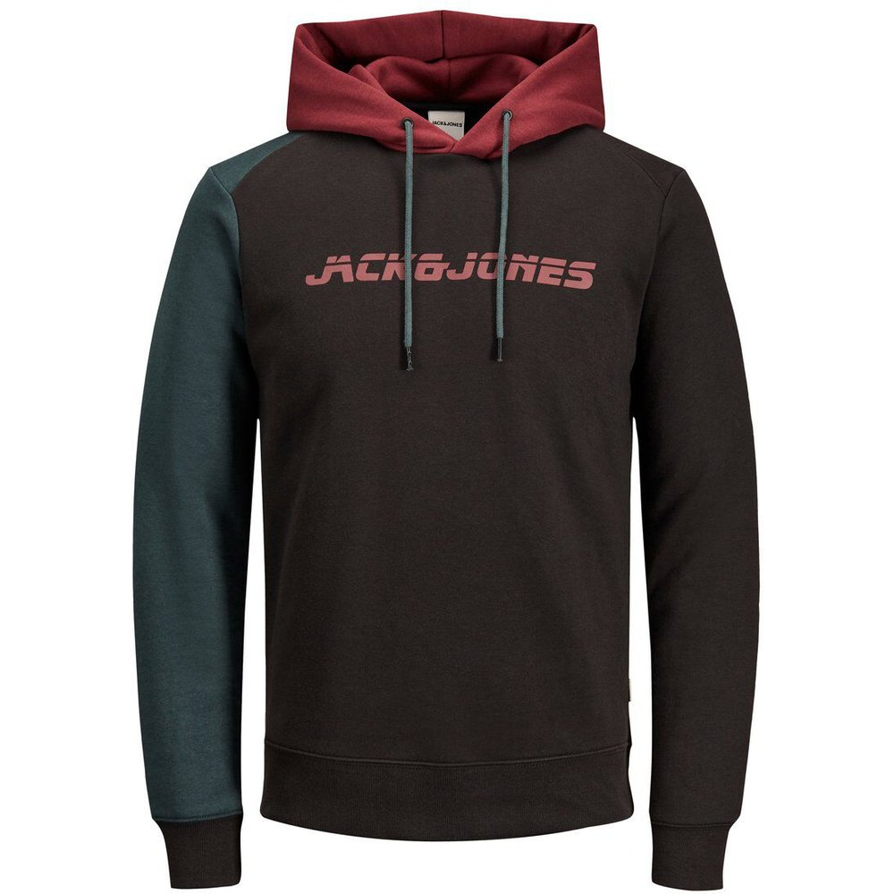 Sweat Logo Sweat À Capuche Men black - jack & jones - Modalova
