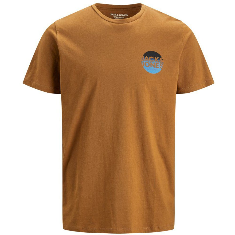 Logo Coloré T-shirt Men brown - jack & jones - Modalova