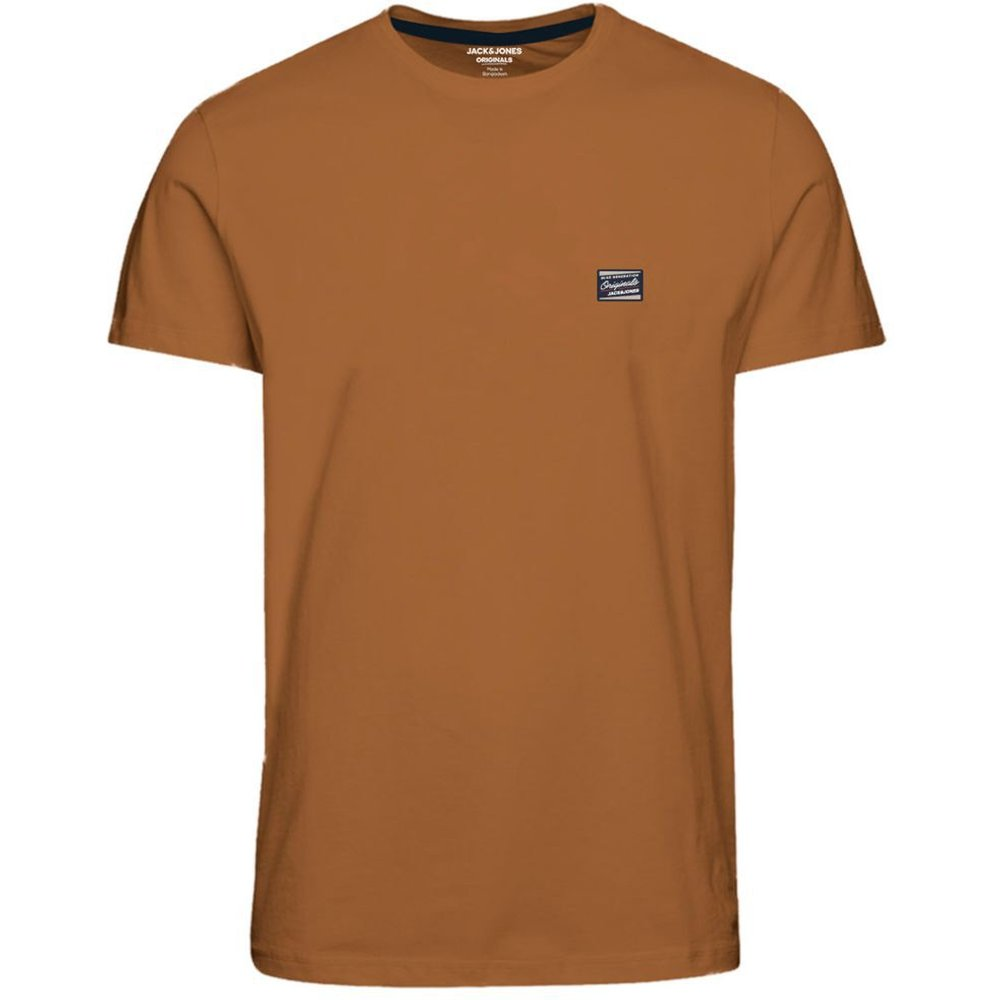 Crew Neck T-shirt Men brown - jack & jones - Modalova
