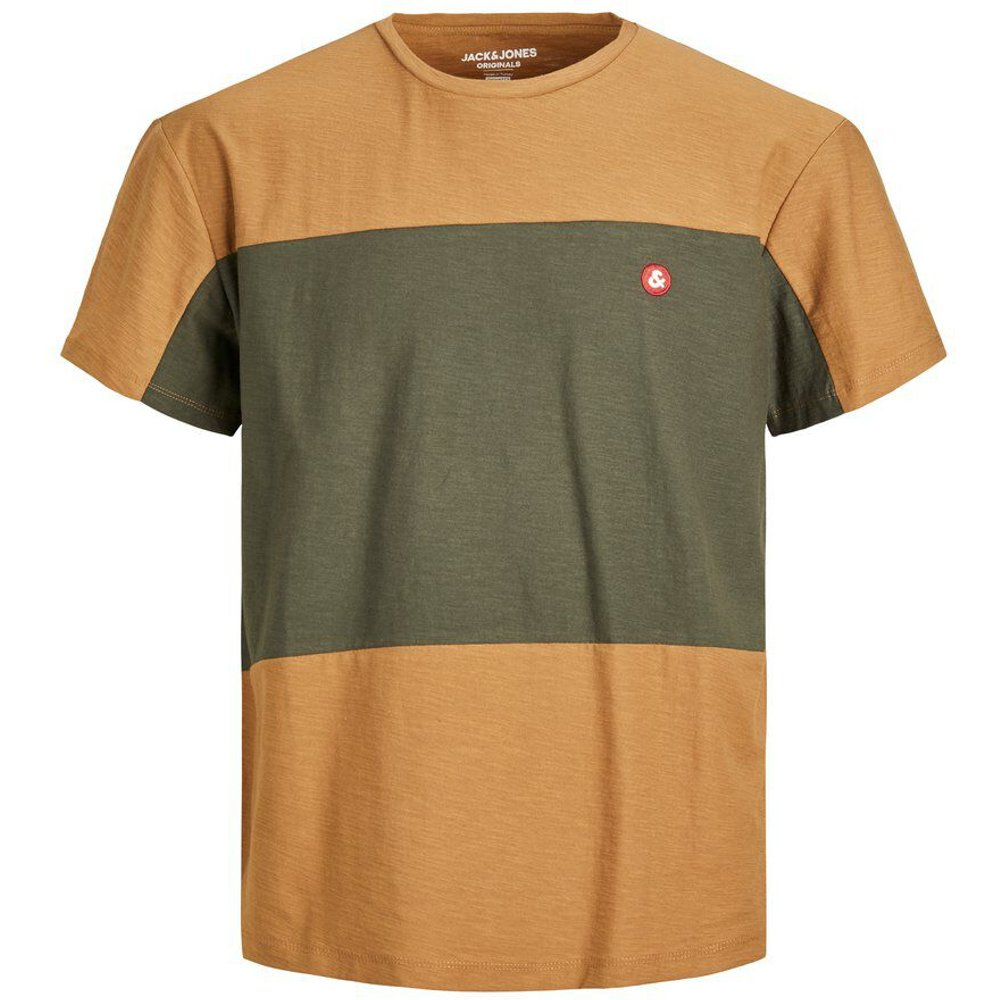 Coupe Décontractée Blocs De Couleur T-shirt Men brown - jack & jones - Modalova