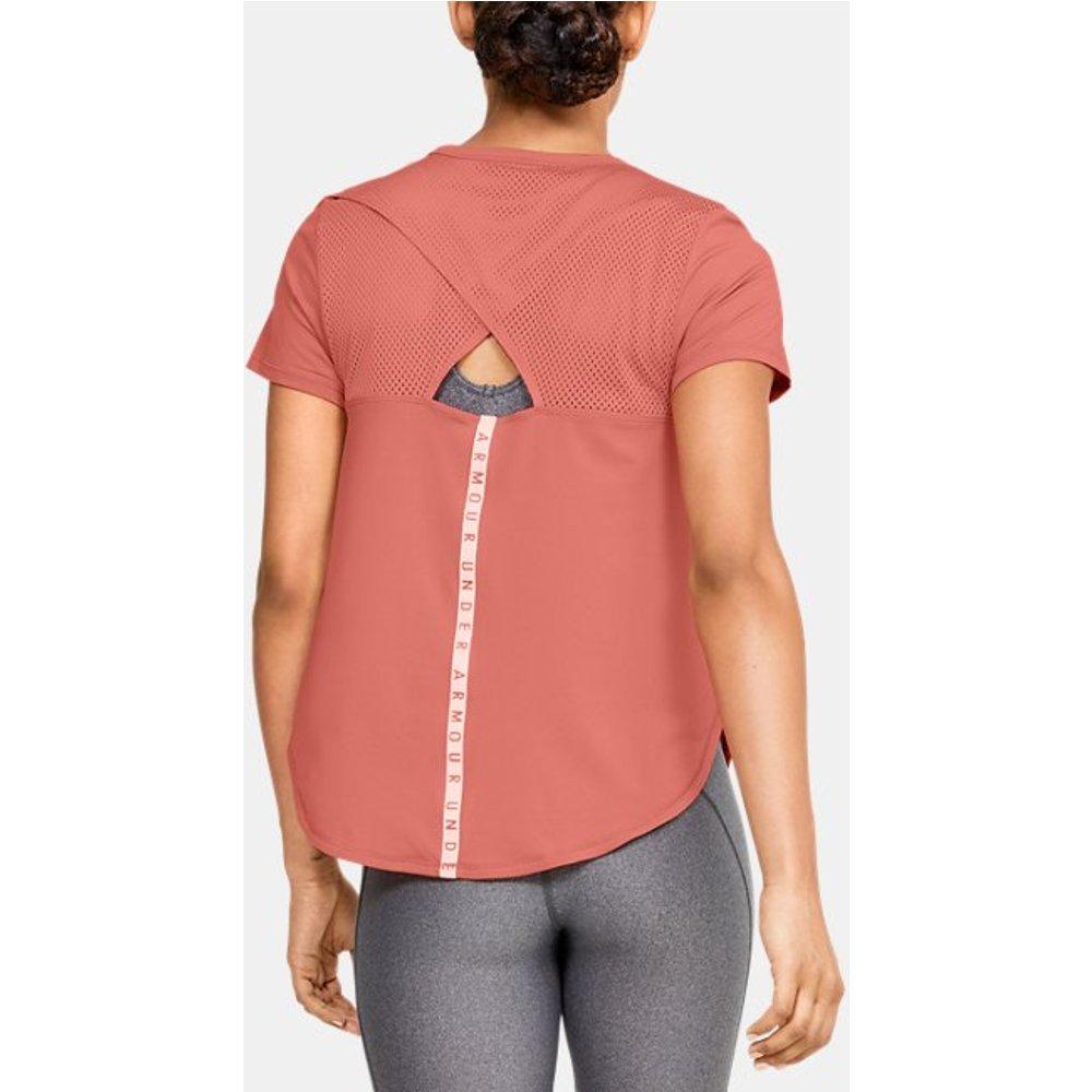 T-shirt à manches courtes UA Armour Sport Crossback - Under Armour - Modalova