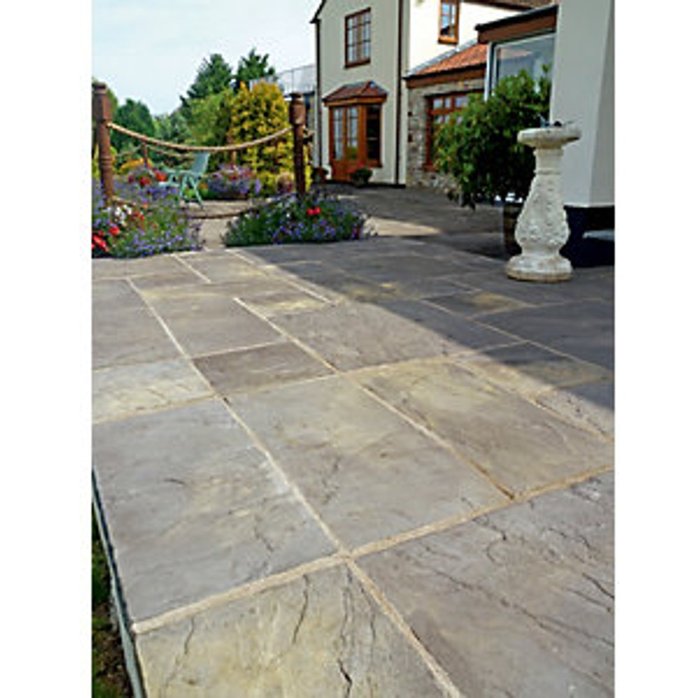 Marshalls Heritage Riven Old Yorkshire 600 x 600 x 38mm Paving Slab - Pack of 22