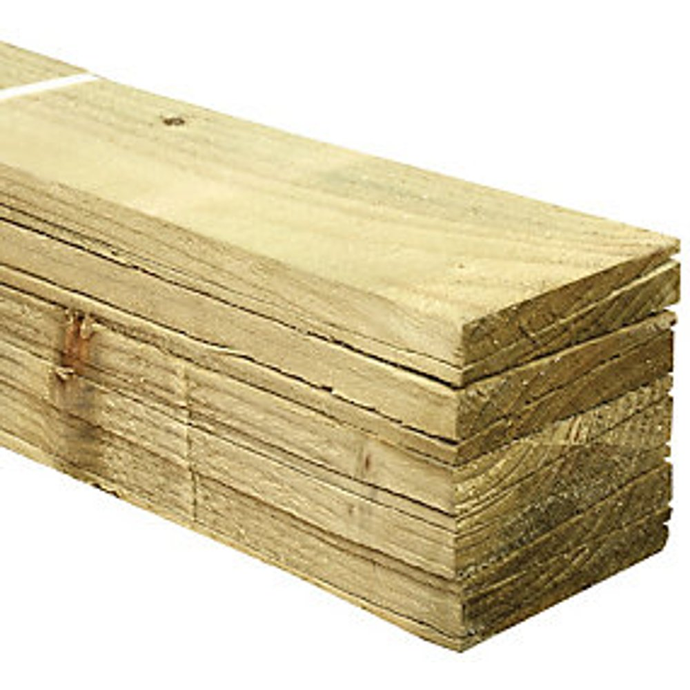 Wickes Feather Edge Fence Board - 100 x 11mm x 1.5m Pack of 10