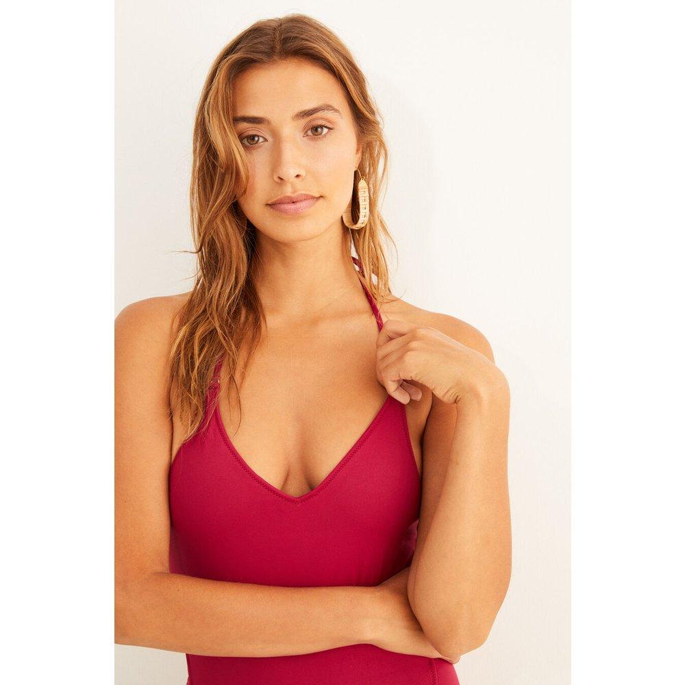 Maillot de bain- trikini dos nu - Women'secret - Modalova