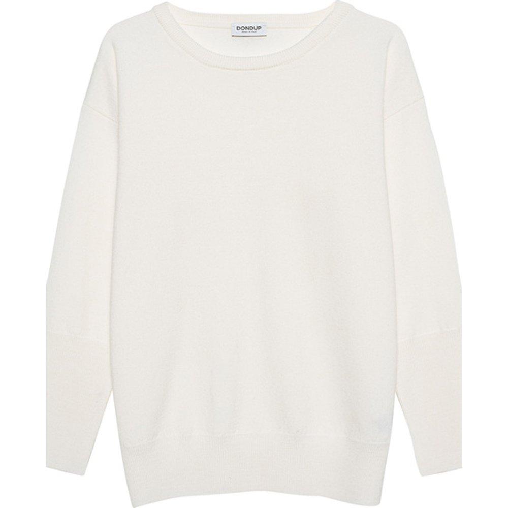Artikel klicken und genauer betrachten! - Oversize Woll-Pullover mit Rundhalsausschnitt  | im Online Shop kaufen