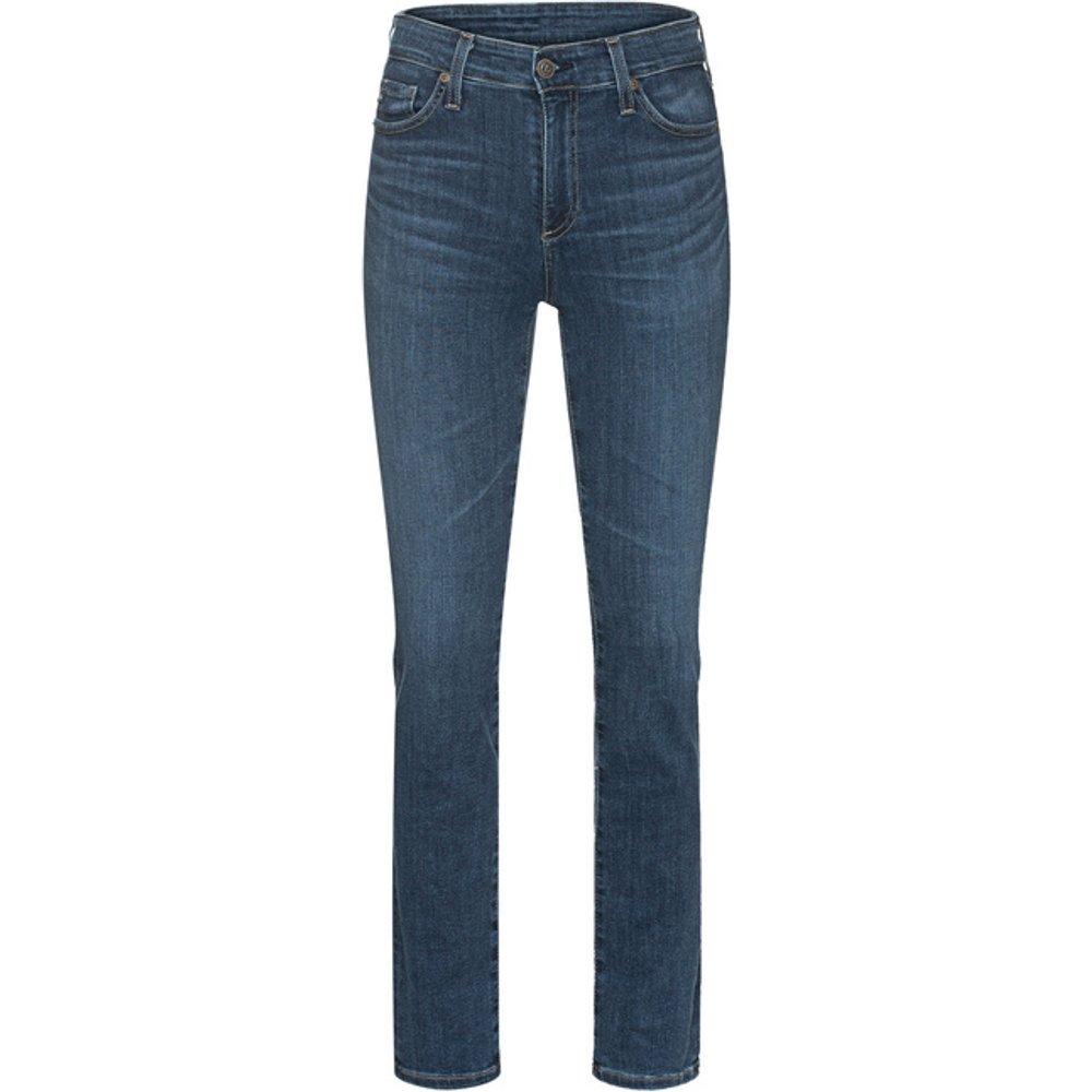 Artikel klicken und genauer betrachten! - Straight-Jeans im Washed-Out Design  | im Online Shop kaufen