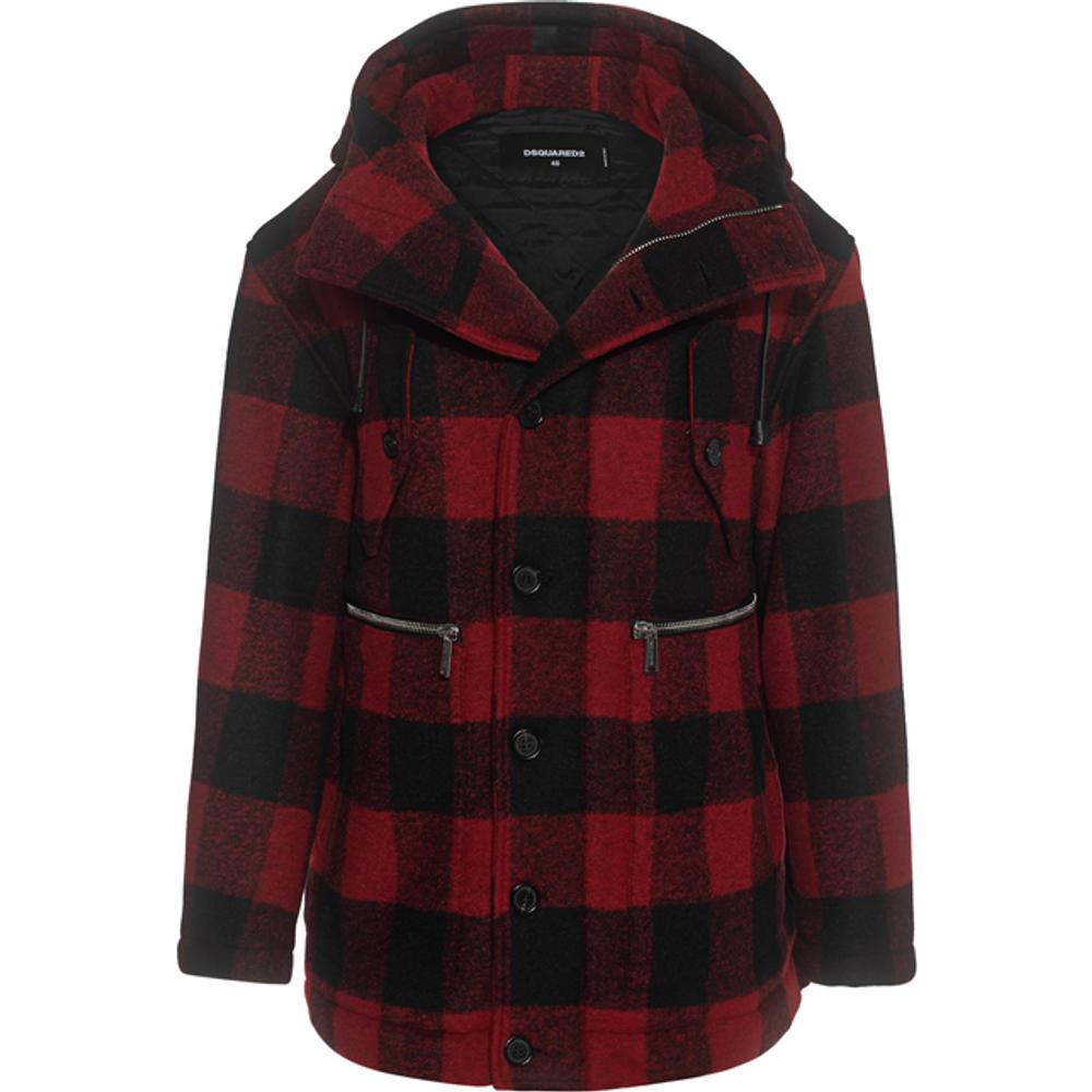 Artikel klicken und genauer betrachten! - Gefütterte Jacke mit Kapuze  | im Online Shop kaufen