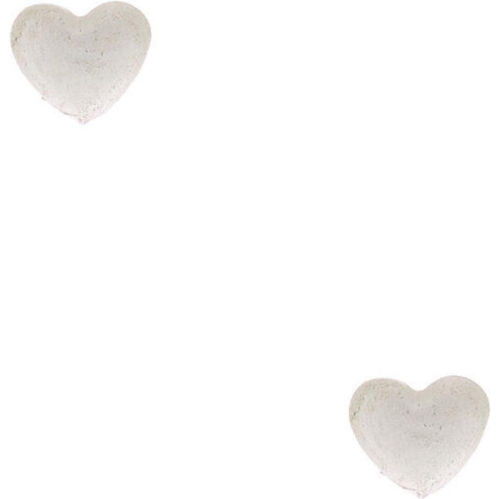 Clous d'oreille en argent avec mini cœur - Claire's - Modalova