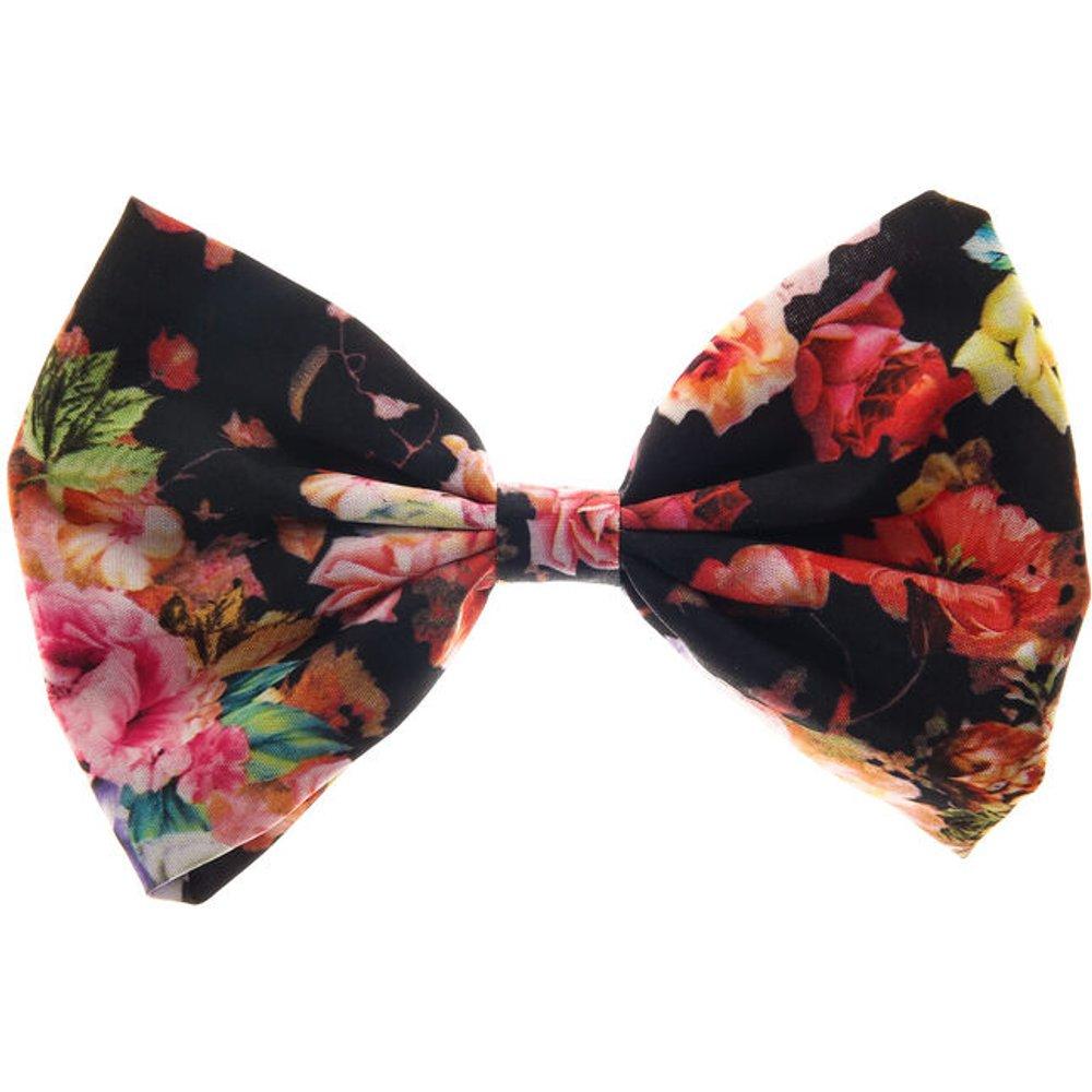 Grande barrette à nœud floral - Claire's - Modalova