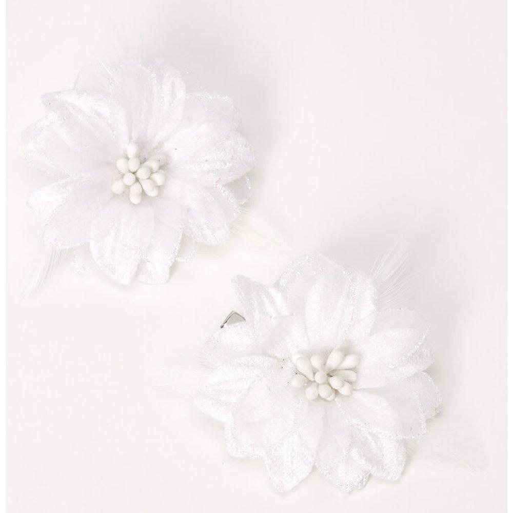 Barrettes à fleurs de lys - , lot de 2 - Claire's - Modalova