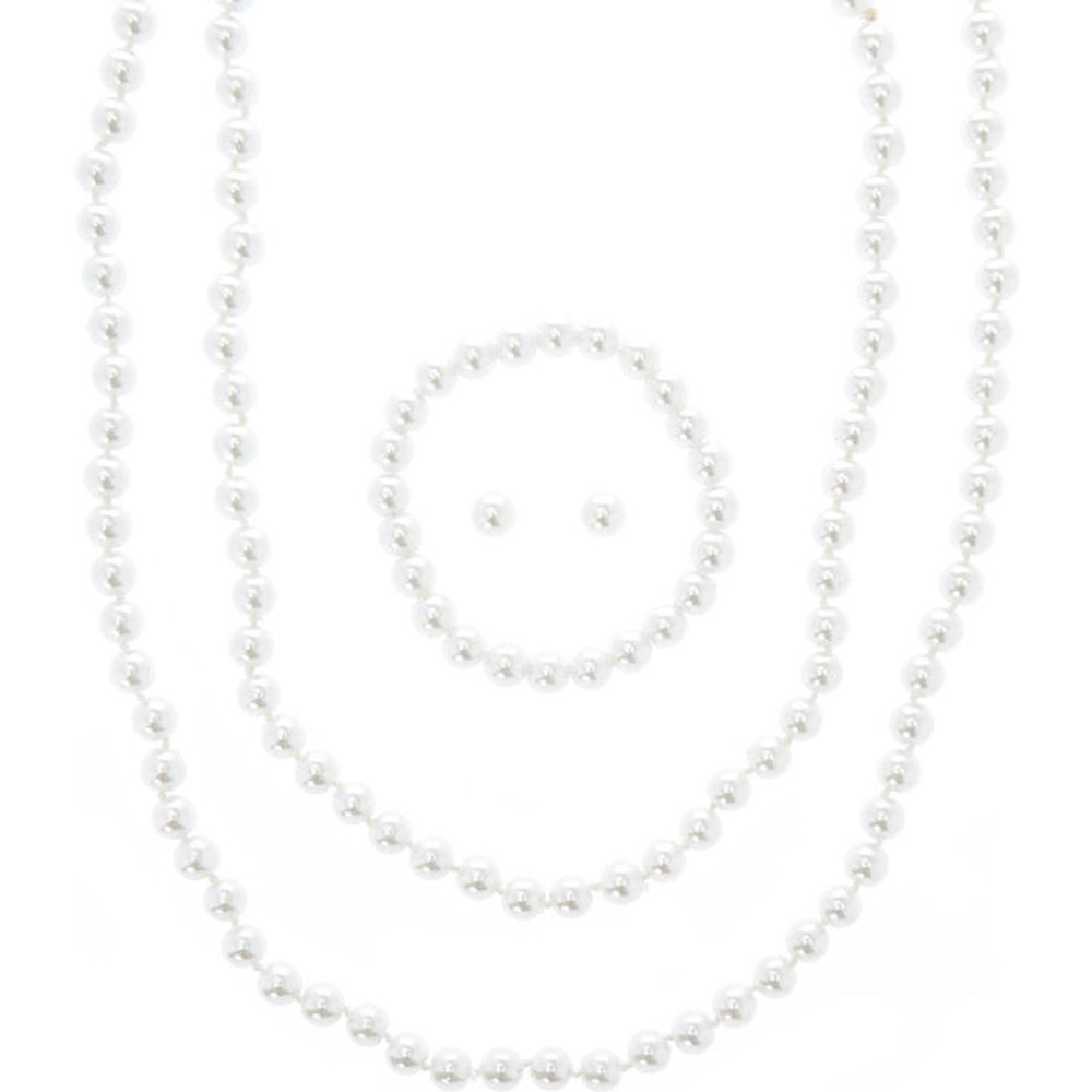 Parure de bijoux perles d'imitation - Claire's - Modalova
