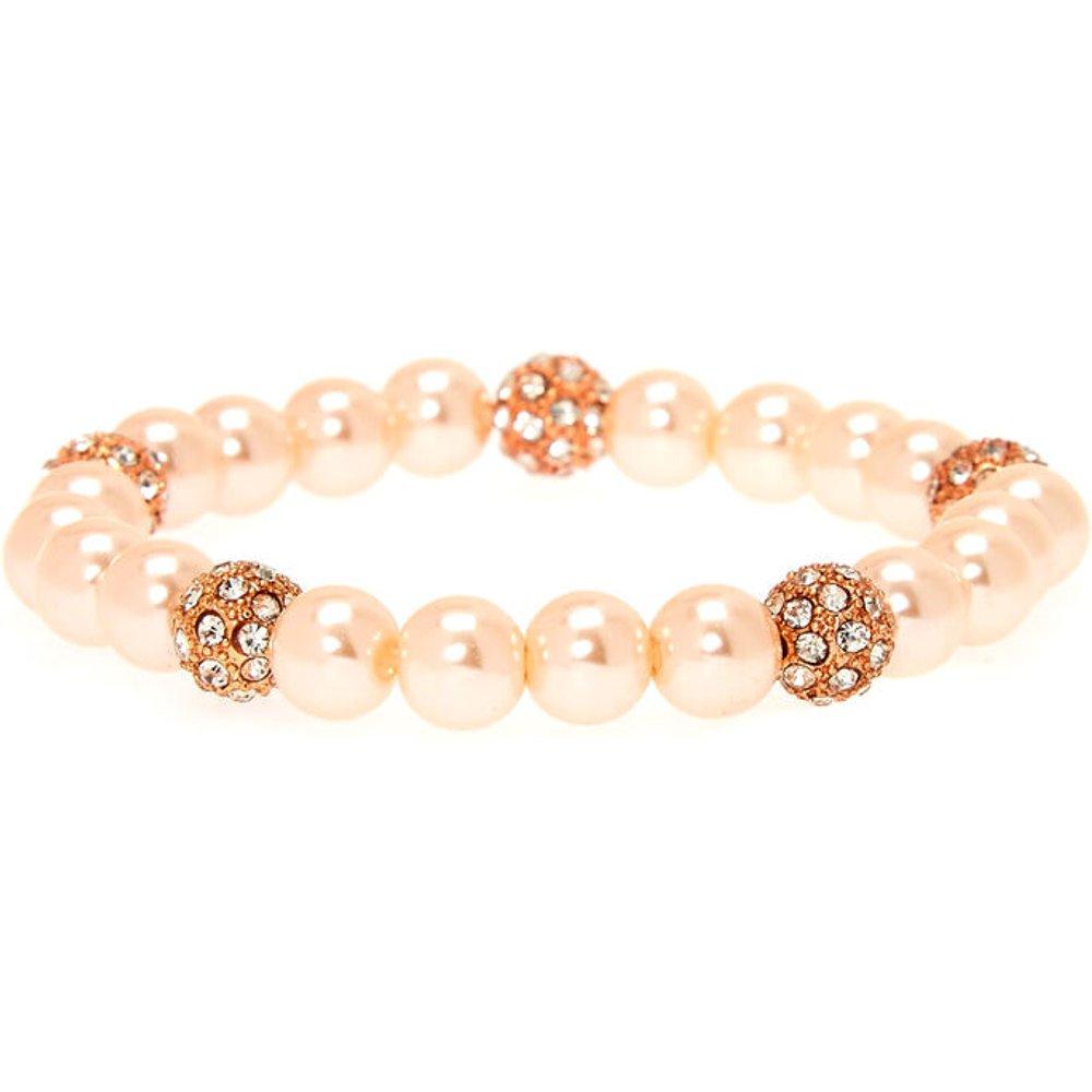 Bracelet élastique à perle d'imitation boules de feu poudré - Claire's - Modalova