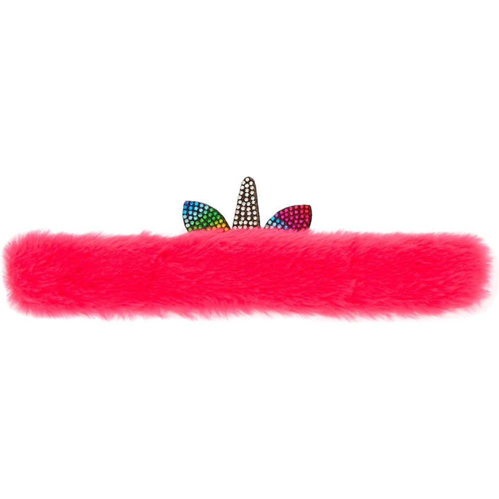 Bracelet enrouleur licorne pelucheux - Claire's - Modalova