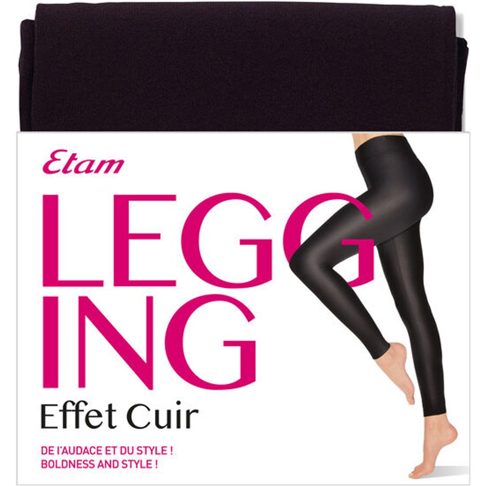 Legging - EFFET CUIR - L -  - Etam - Modalova