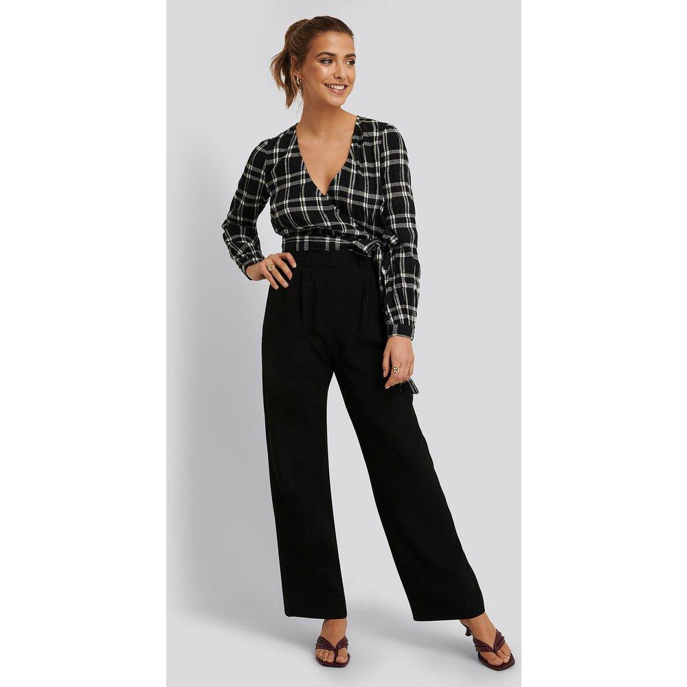 Pantalon De Costume - Black - Buonalima x NA-KD - Modalova