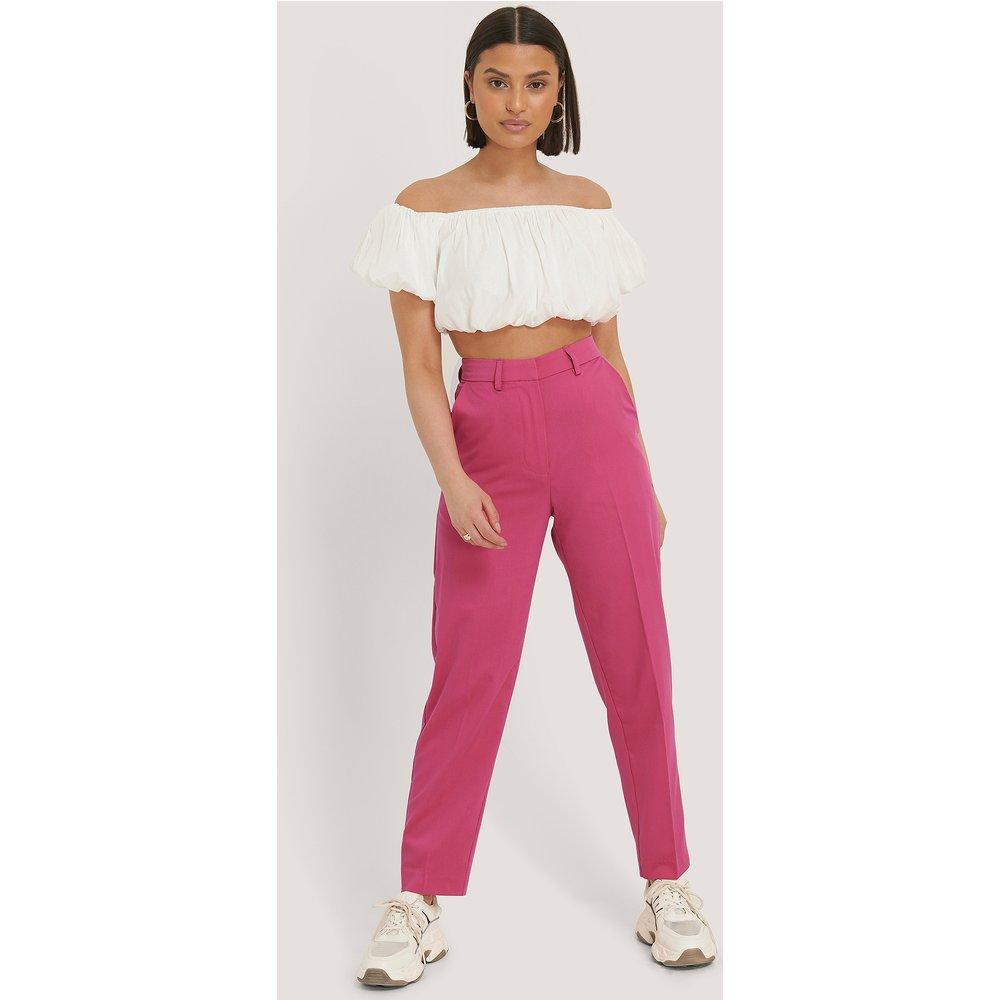 Pantalon De Costume Classique - Pink - NA-KD Classic - Modalova