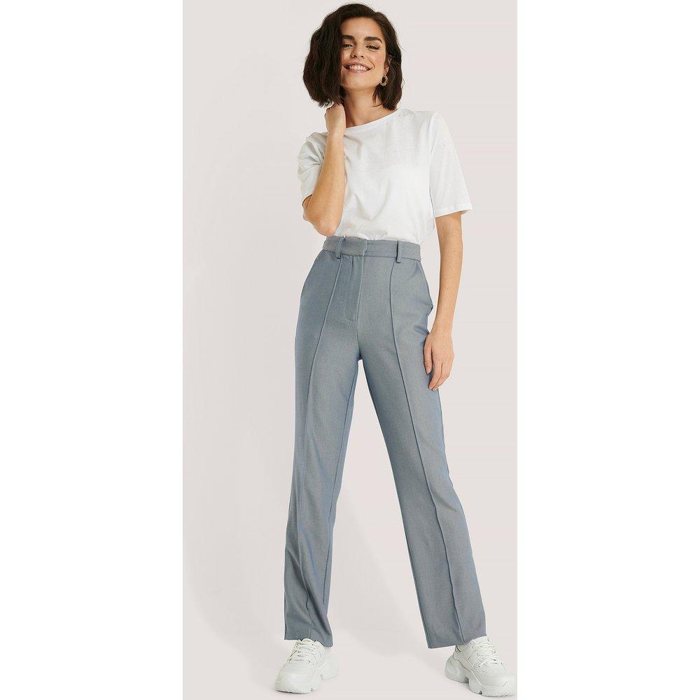 Pantalon De Costume - Blue - NA-KD Trend - Modalova