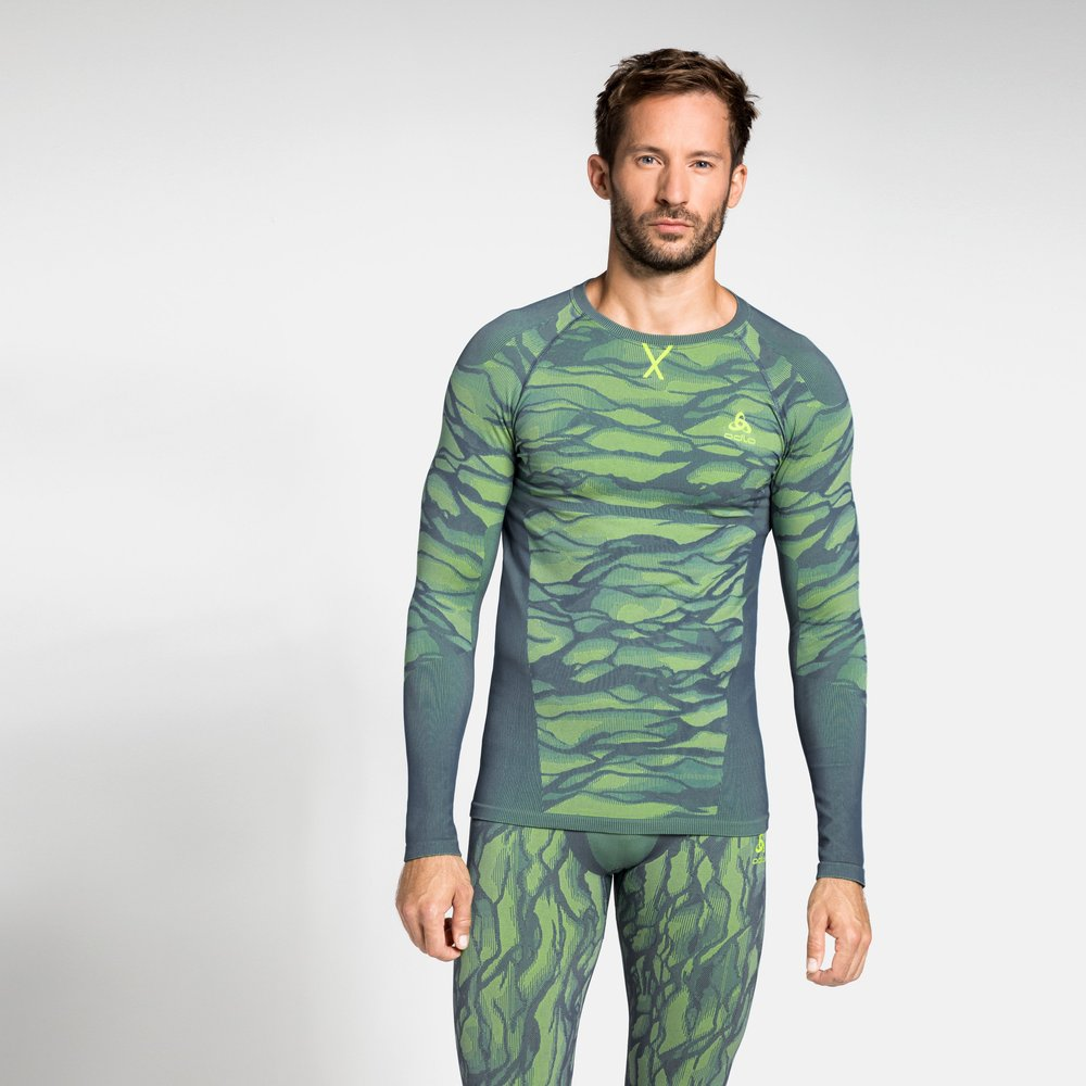 Sous-vêtement technique T-shirt manches longues BLACKCOMB pour - Odlo - Modalova