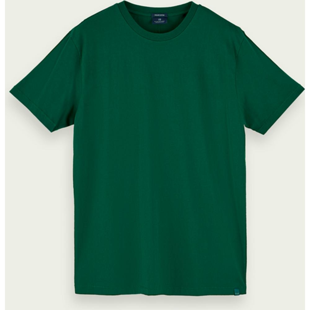 T-shirt à manches courtes en coton bio - Scotch & Soda - Modalova