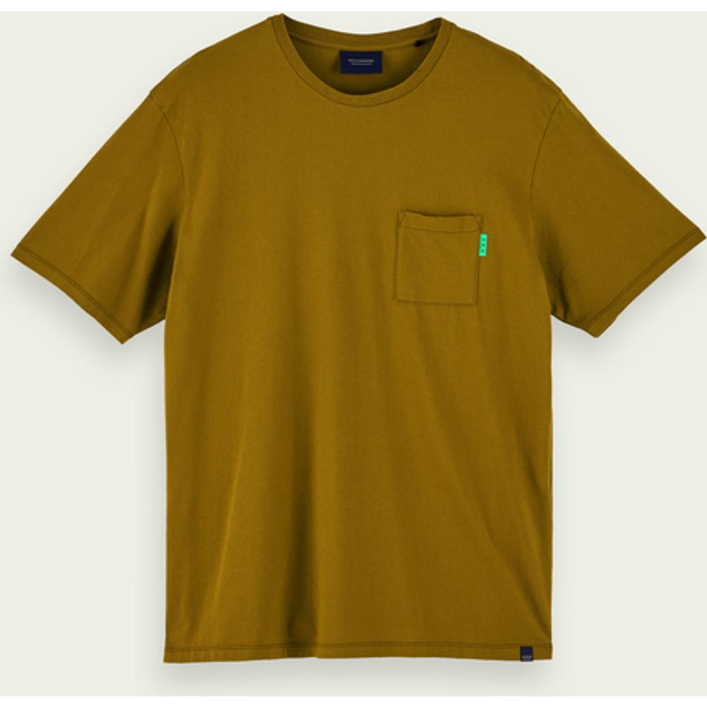 T-shirt à manches courtes 100% coton avec poche poitrine - Scotch & Soda - Modalova