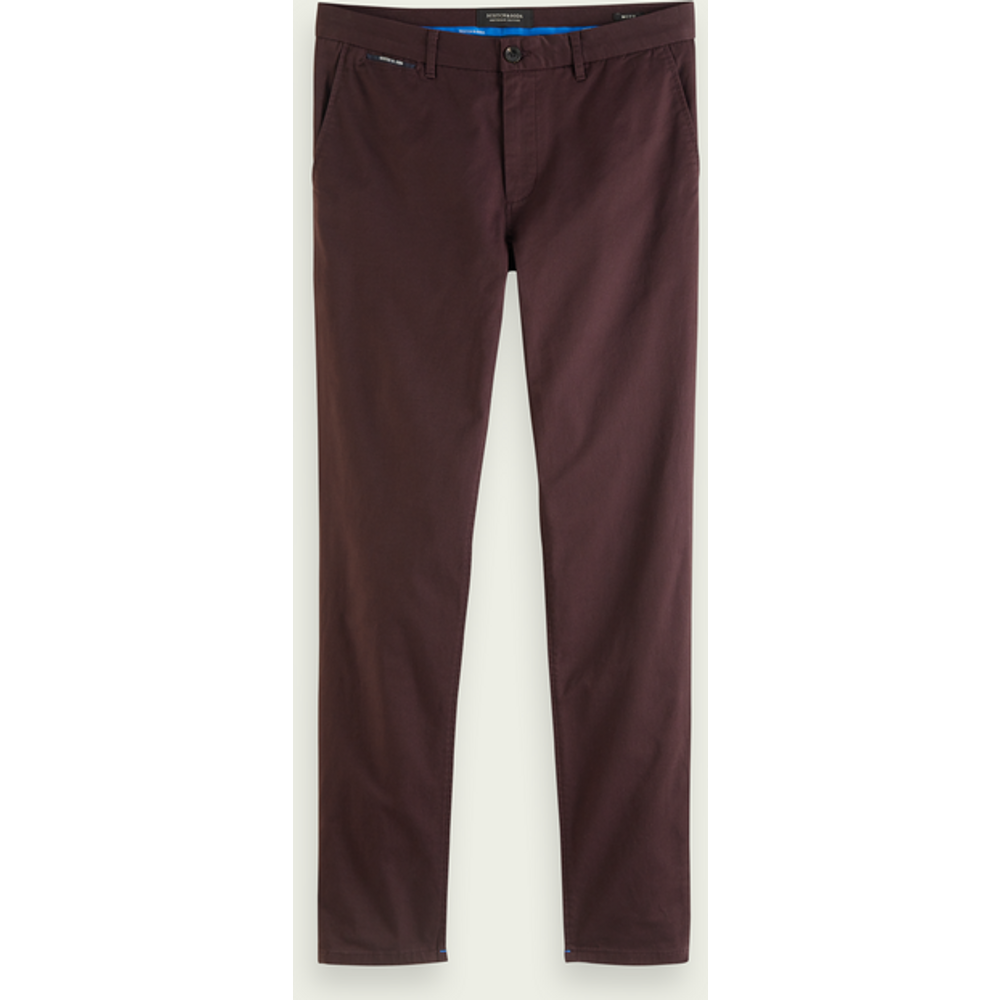 MOTT – Chino en serge classique | Super slim fit - Scotch & Soda - Modalova