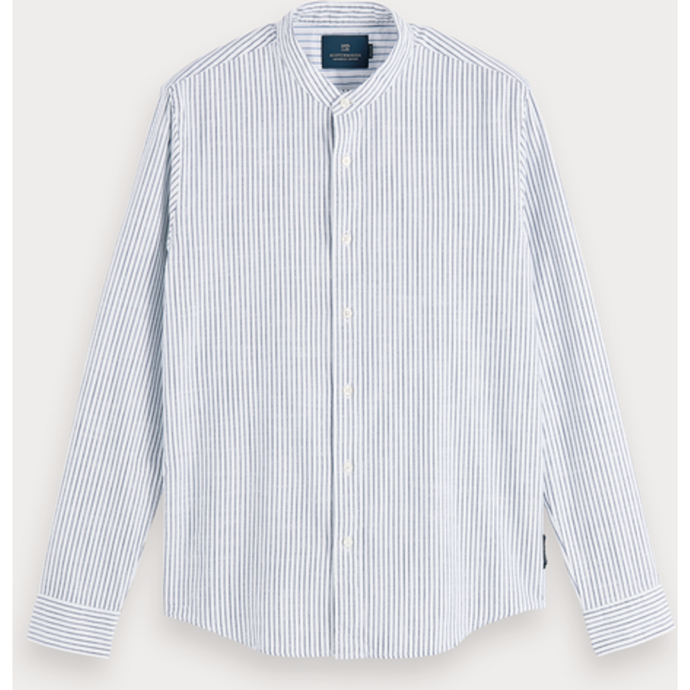 Chemise sans col | Regular fit - Scotch & Soda - Modalova