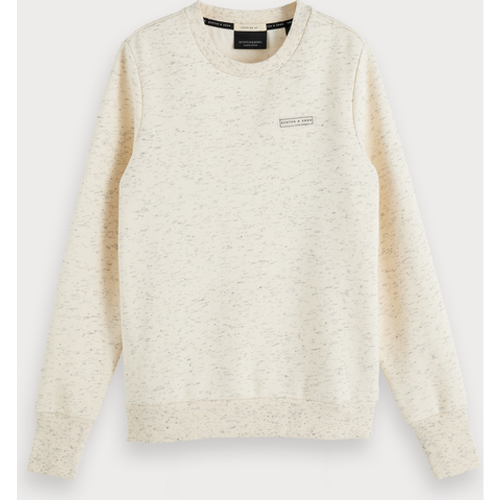 Sweat-shirt ras du cou chiné - Scotch & Soda - Modalova