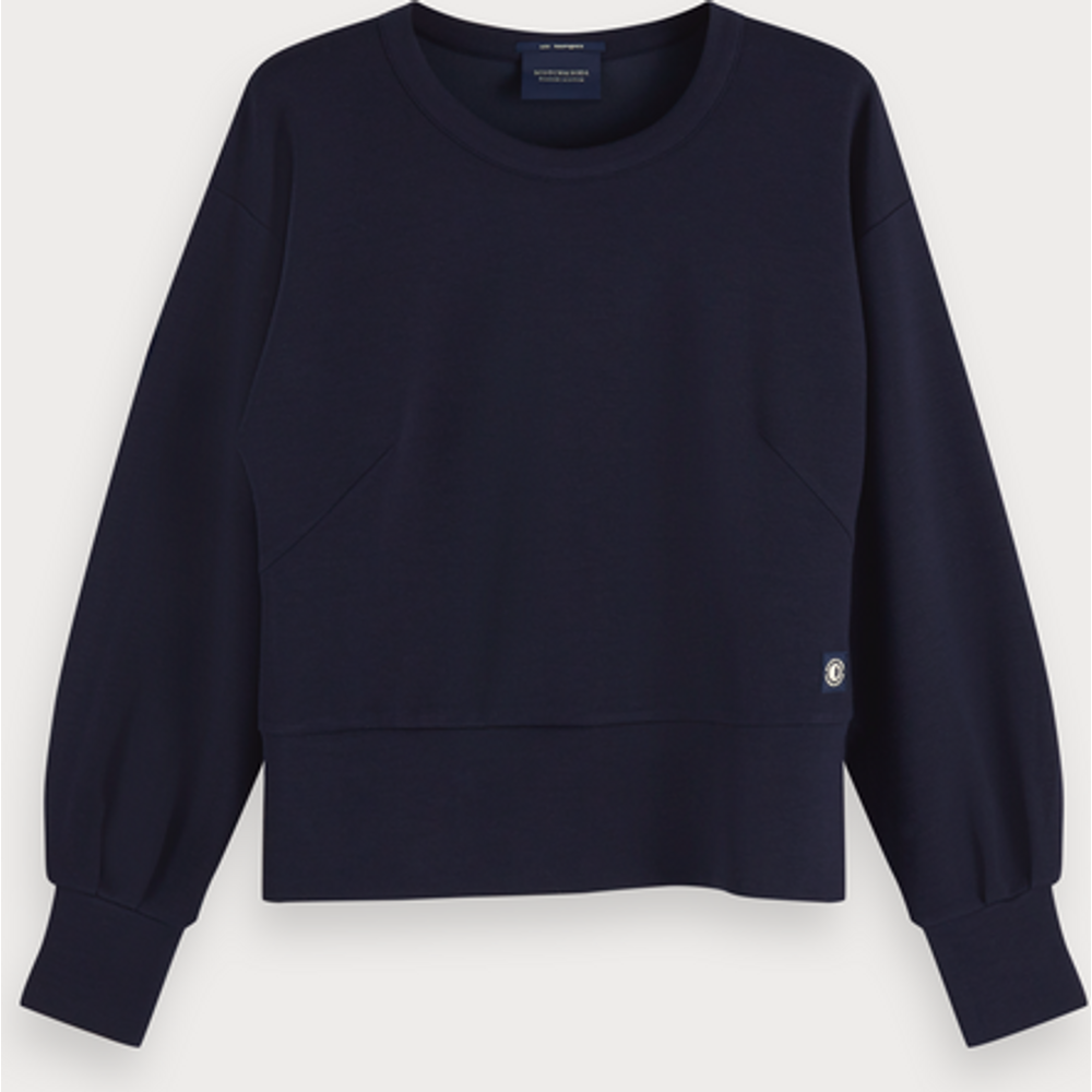 Sweat-shirt ras du cou basique - Scotch & Soda - Modalova