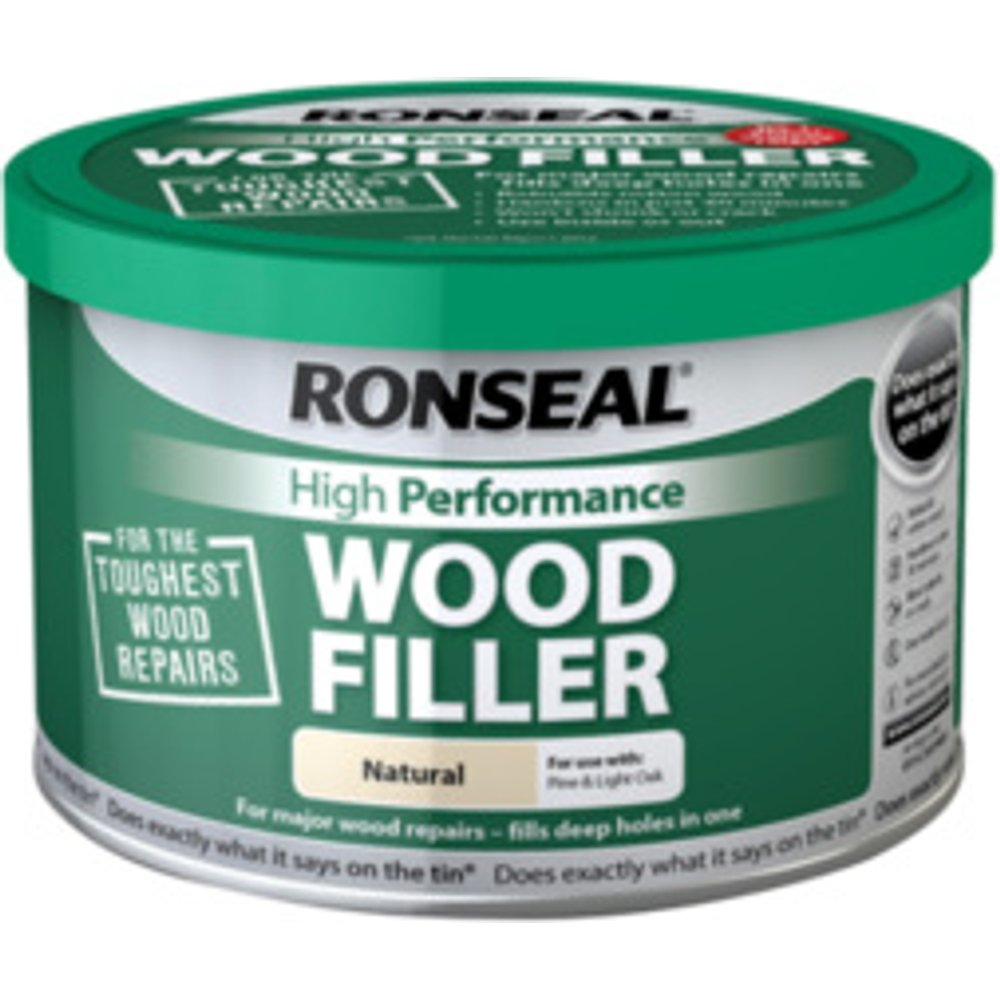 Ronseal High Performance Wood Filler - Natural / 275g