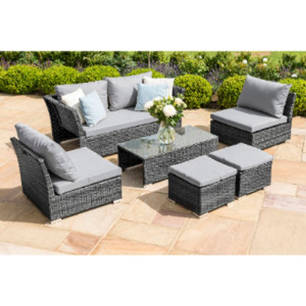 Maze Seville Sofa Set - Grey