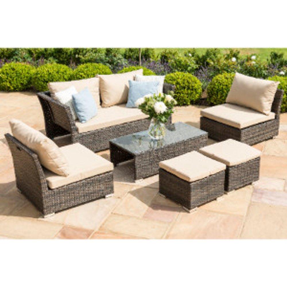 Maze Seville Sofa Set - Brown