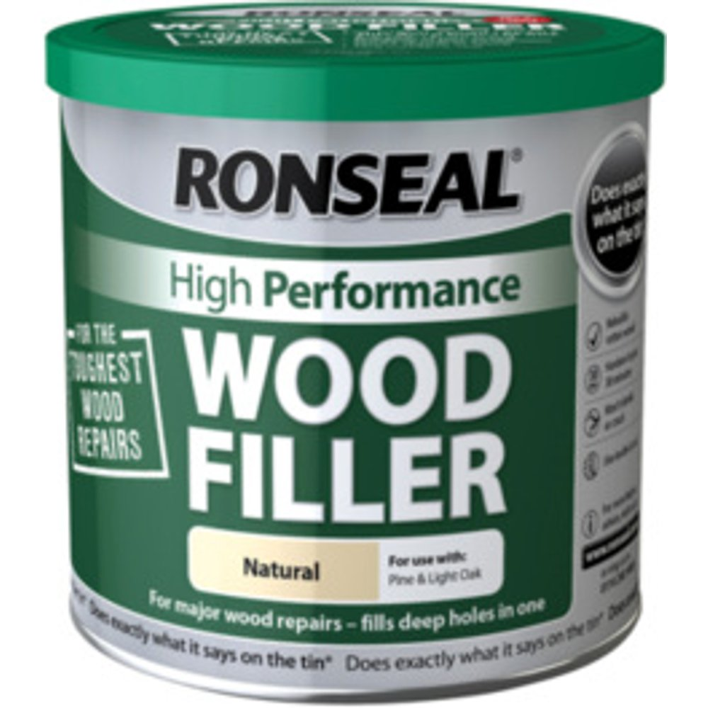 Ronseal High Performance Wood Filler - Natural / 550g