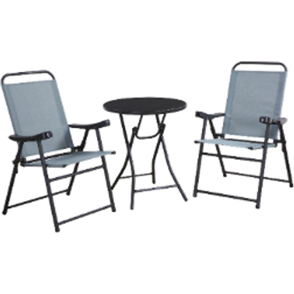 Alicante Folding Chair Bistro Set