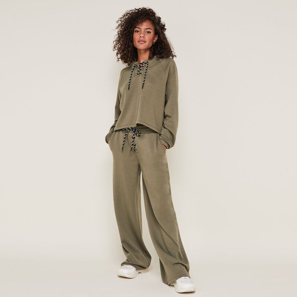 Pantalon large à lacet croisileoiz - Undiz - Modalova