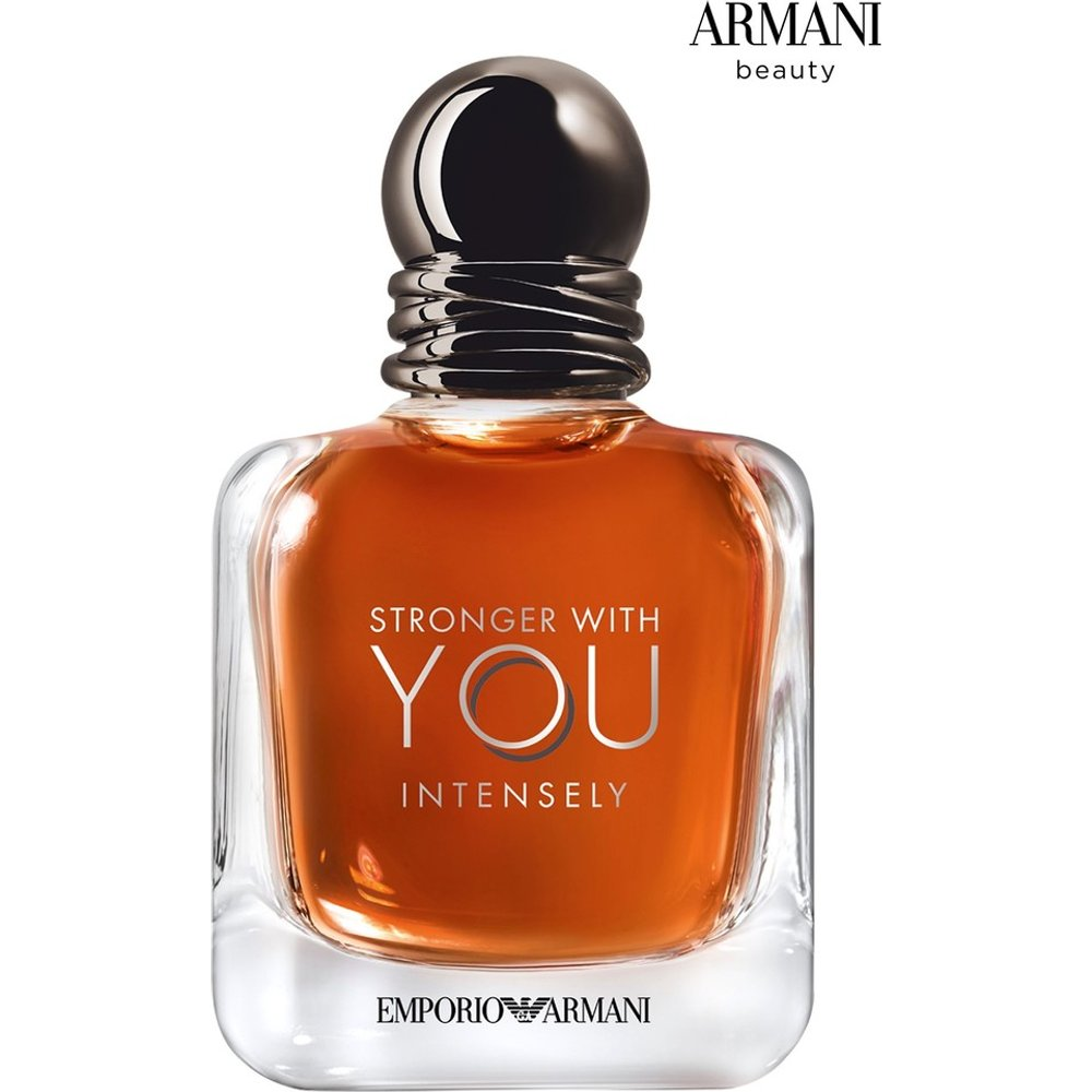 Mens Emporio Armani Stronger With You Intensely Aftershave 50ml -  No Colour