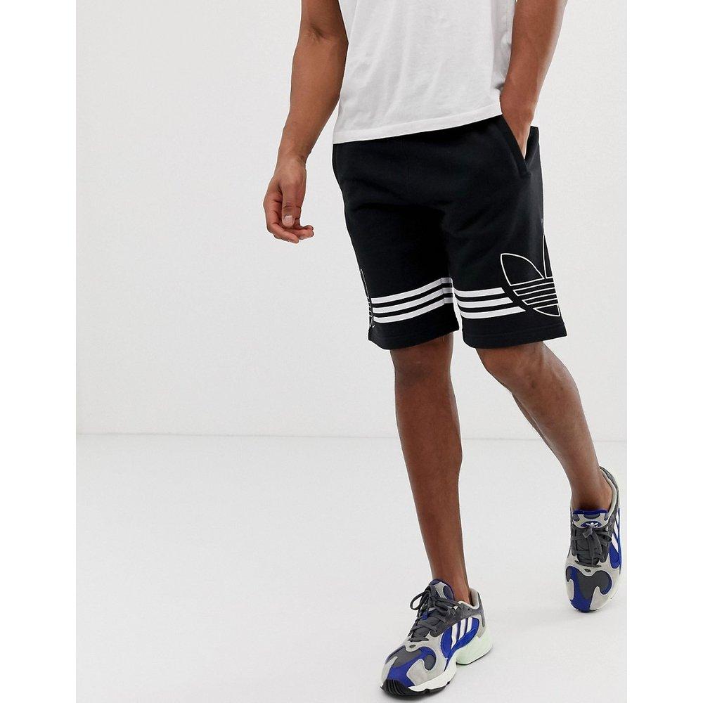 Short en jersey avec logo trèfle DU8135