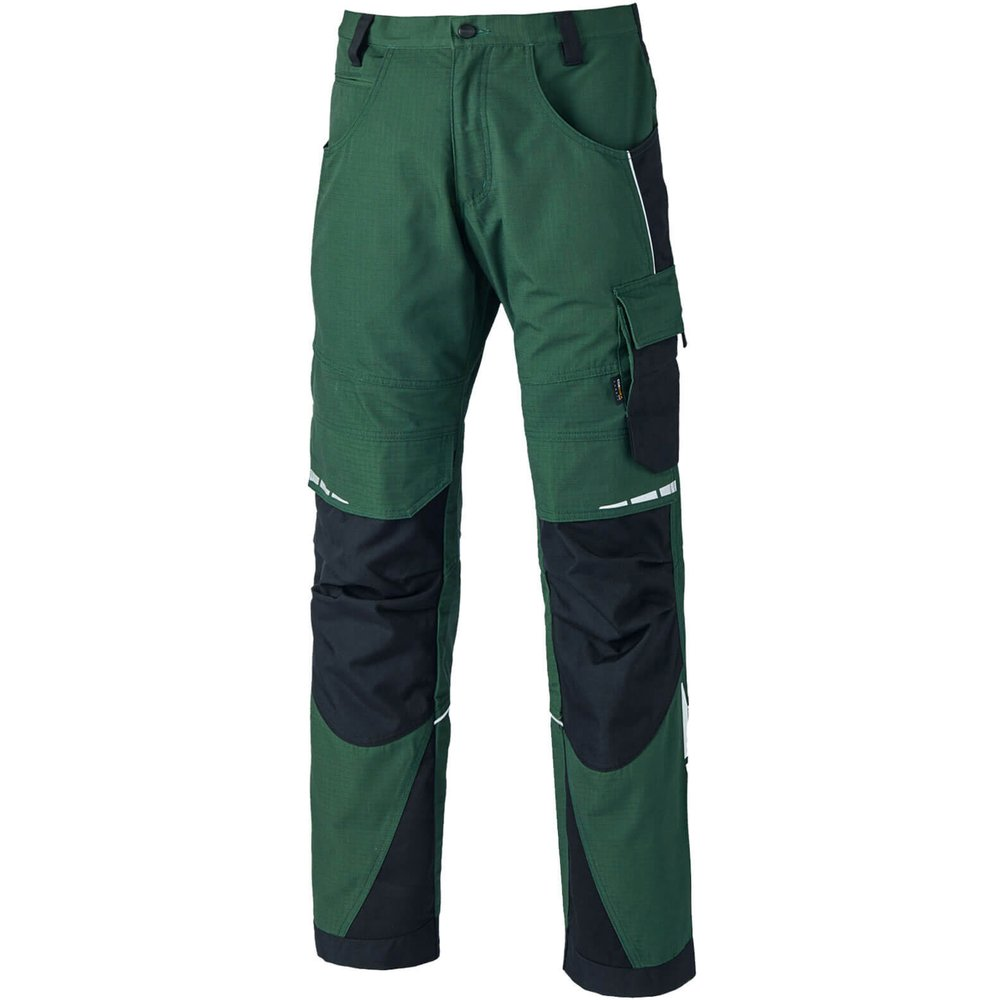 Dickies Pro Trousers Green / Black 42