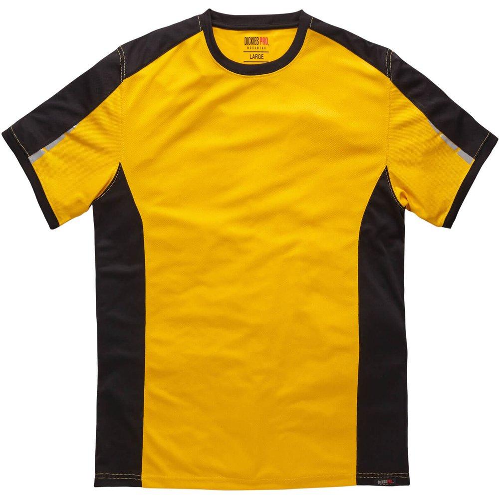 Dickies Pro T-Shirt Yellow / Black XL