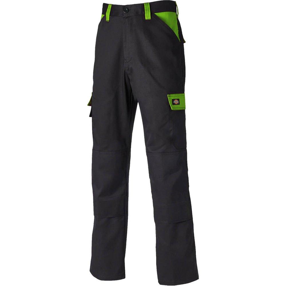 Dickies Everyday Trouser Black / Lime 44
