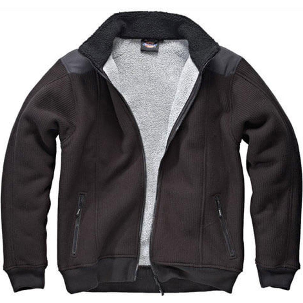 Dickies Mens Eisenhower Fleece Jacket Black L