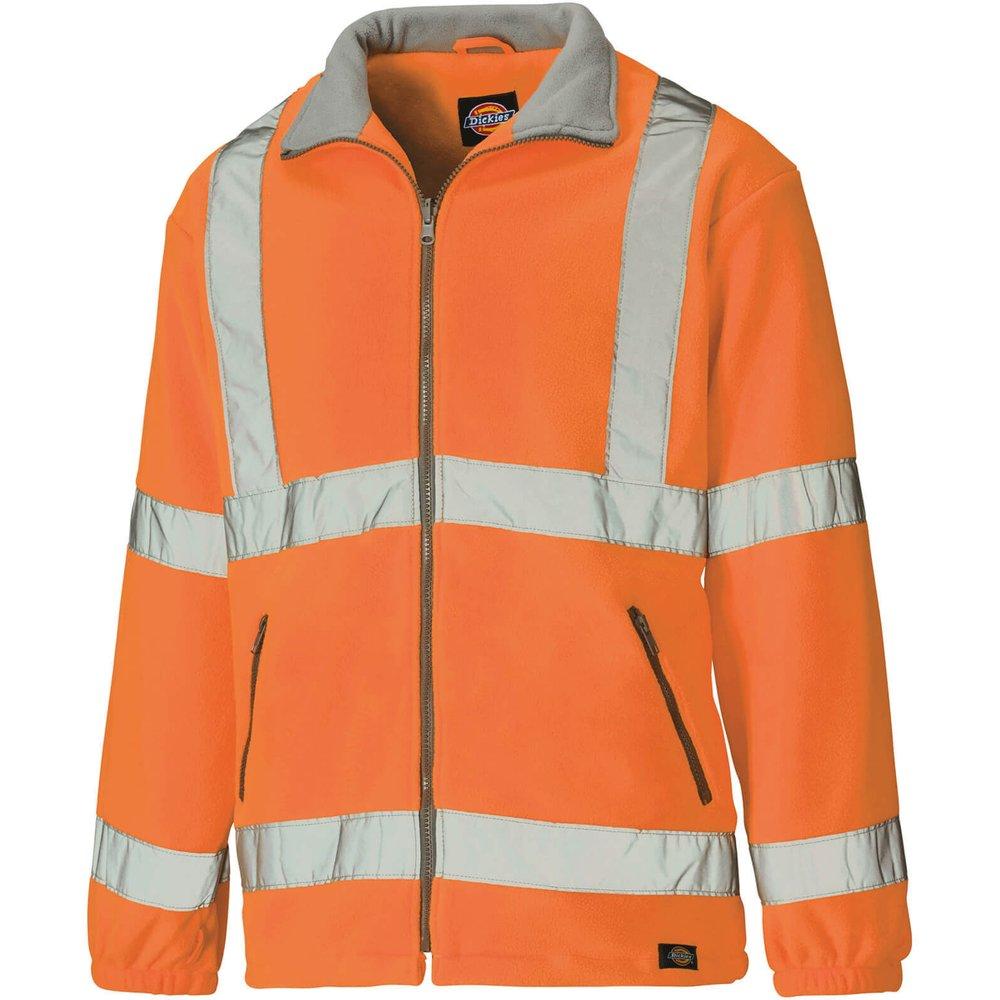 Dickies High Vis Fleece Orange 4XL