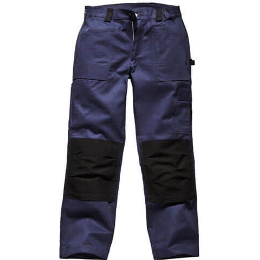 Dickies Mens Grafter Duo Tone 290 Trousers Navy / Black 40