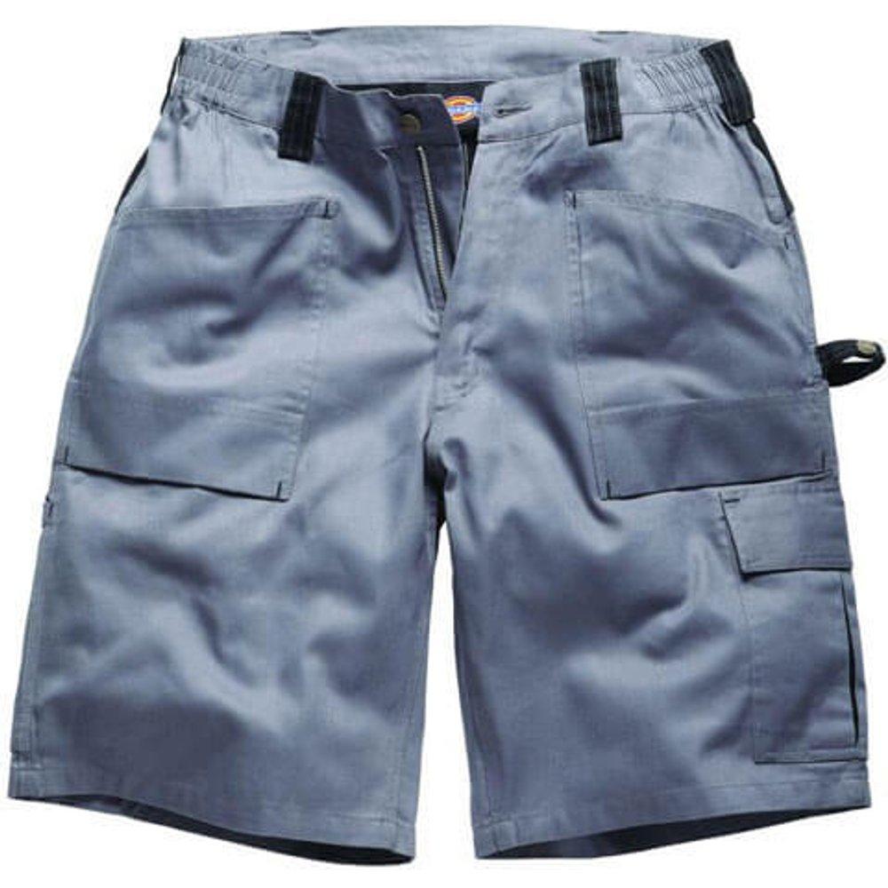 Dickies Mens Grafter Duo Tone Shorts Grey / Black 28
