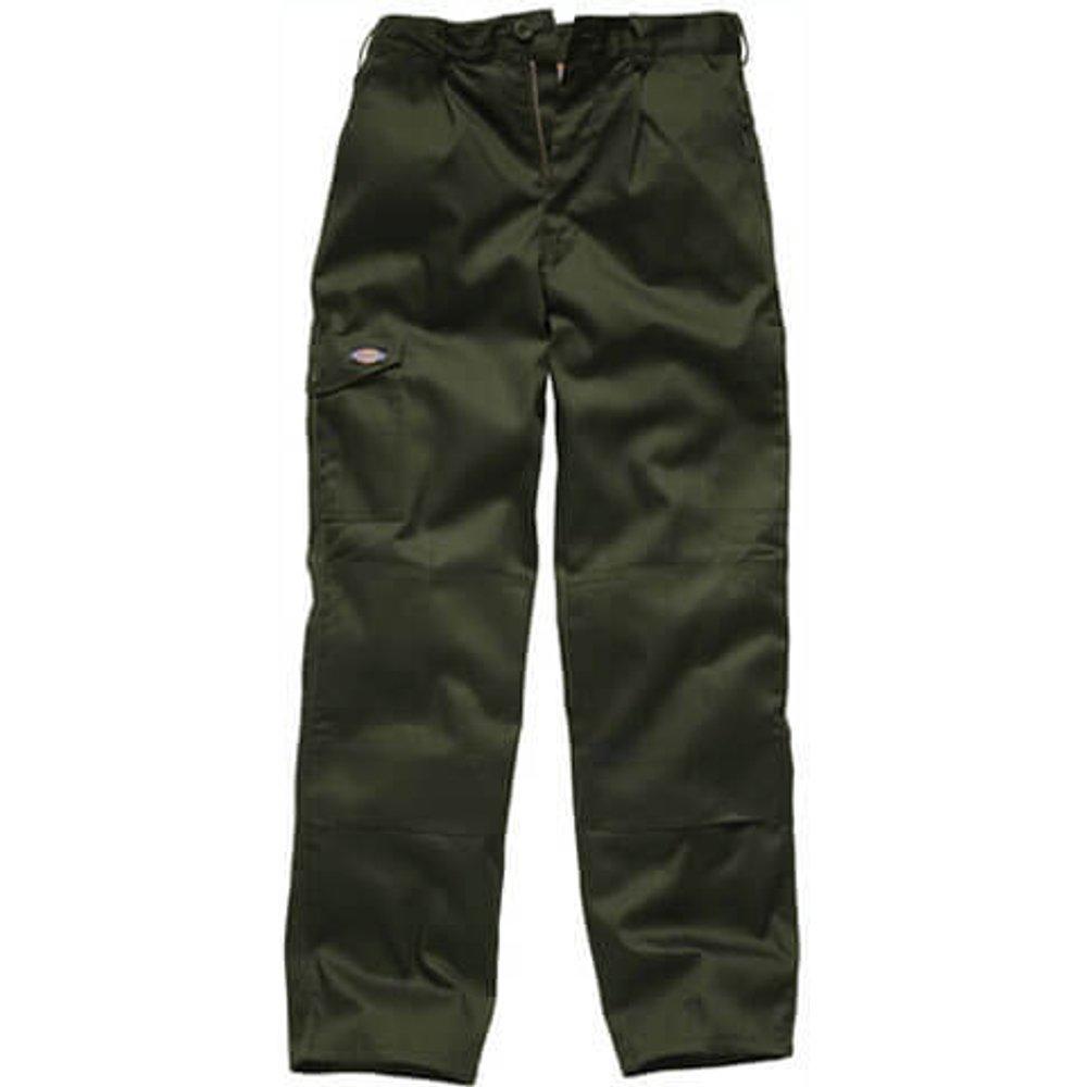 Dickies Mens Redhawk Super Trousers Olive Green 48