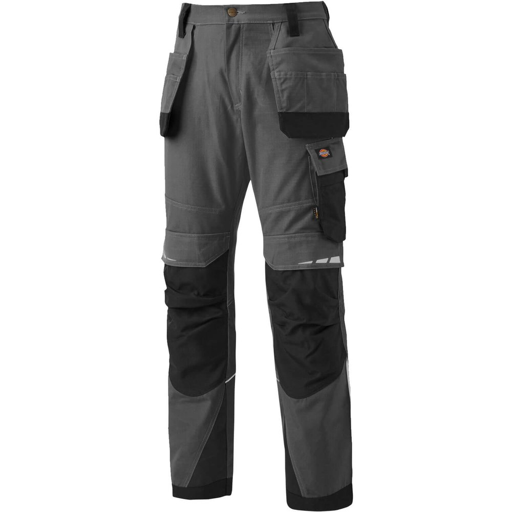Dickies Pro Holster Trousers Grey / Black 40