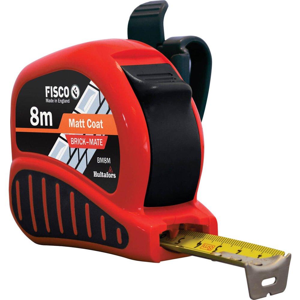 Fisco Brickmate Tape Measure Metric 8m 25mm