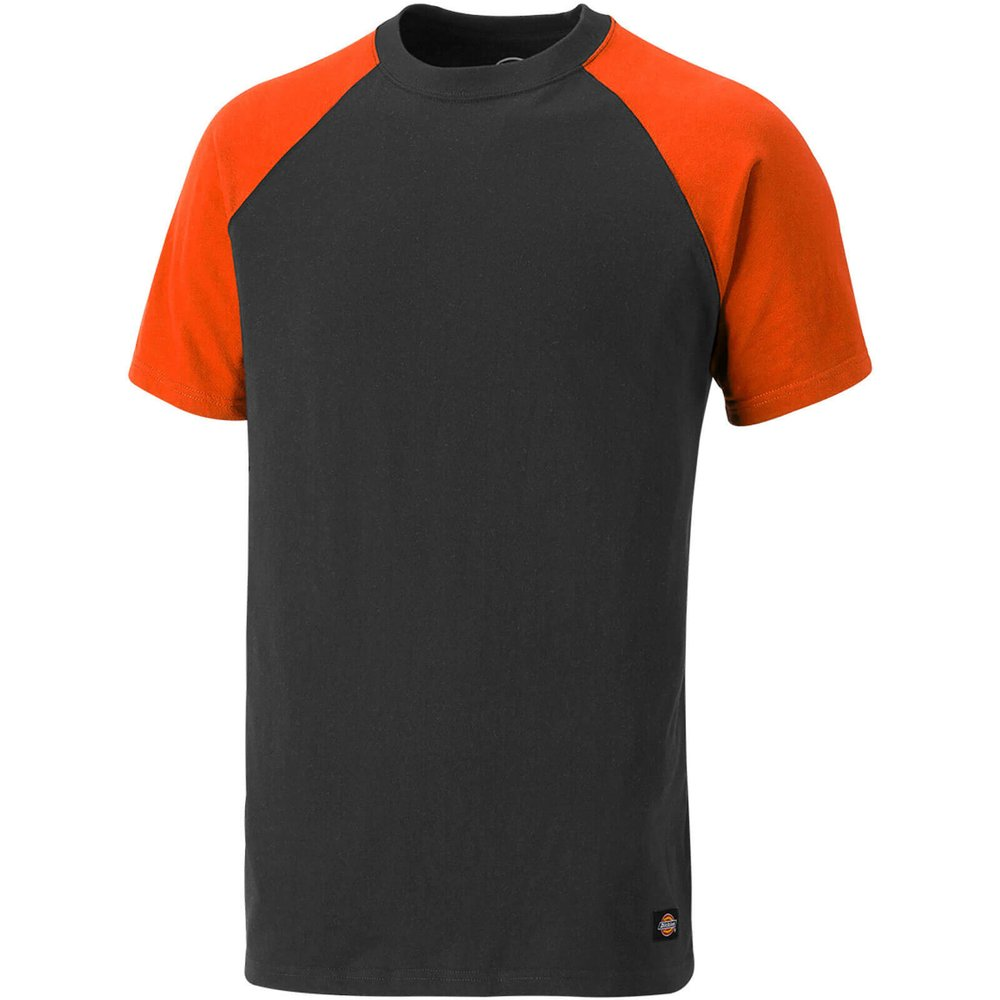 Dickies Two Tone T-Shirt Grey/ Orange XL